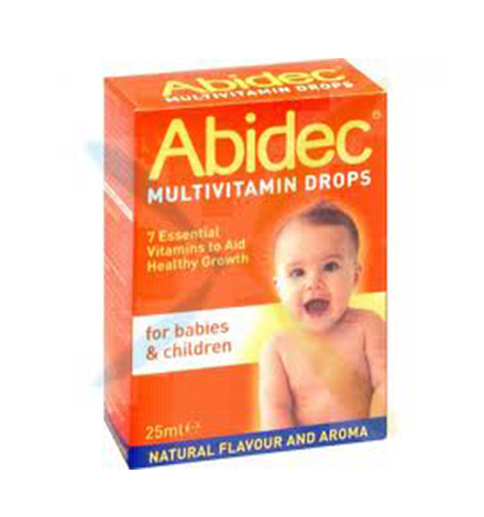 Abidec Multivitamin Drops for Babies and Children - 25ml