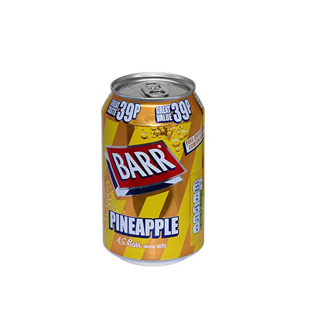 BARR PINEAPPLE CAN 330ml