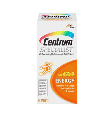 Centrum Specialist Complete Multivitamin (60 Tablets)