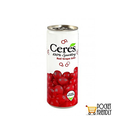Ceres Red Grape Juice Can 275ml