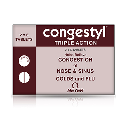 Congestyl Tablets (2 Tablets)