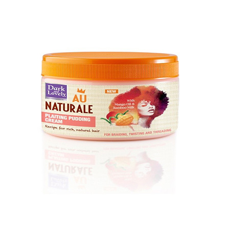 Dark and Lovely Au Naturale Plaiting Pudding Cream - 250ml